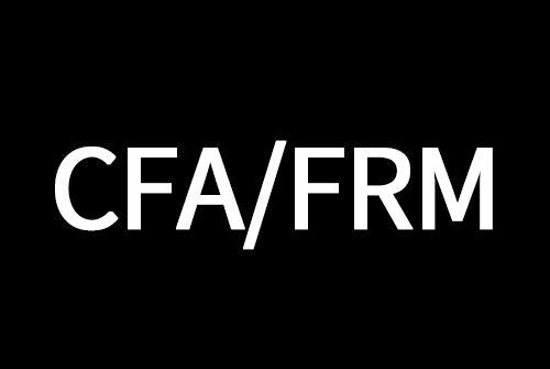 CFA/FRM