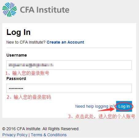 CFA报名流程