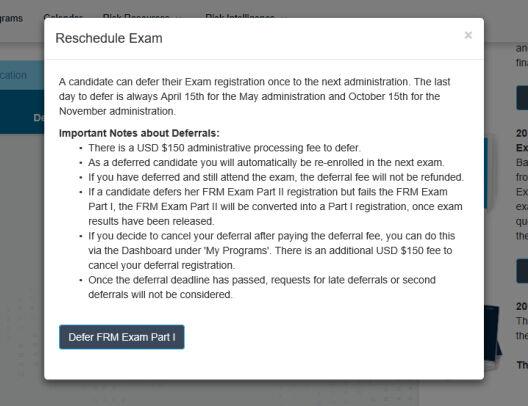 2018年FRM考试延期,FRM推迟考试