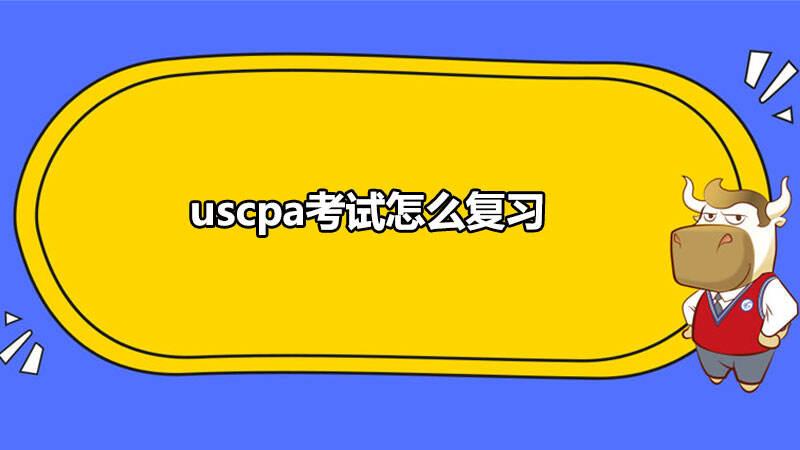uscpa考试怎么复习