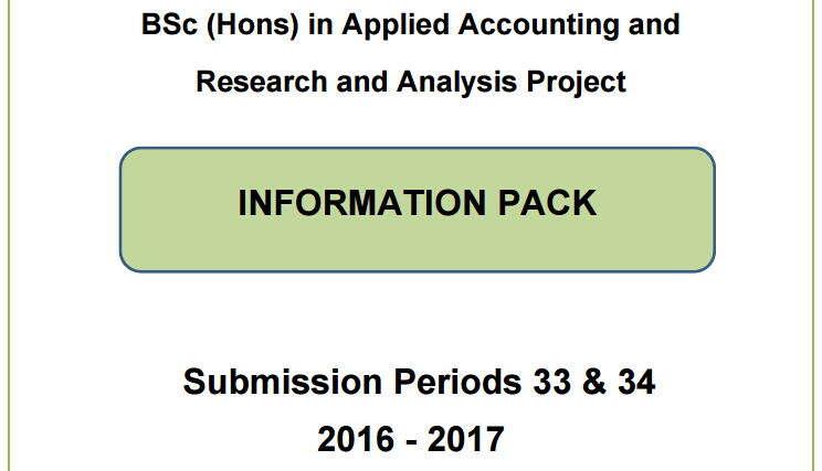 2016-2017年ACCA学员申请OBU的攻略