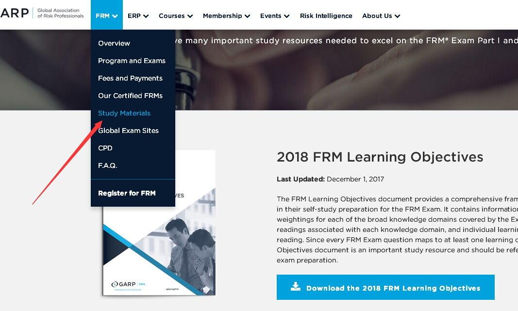 FRM协会资料获取