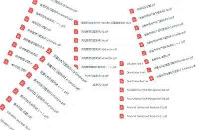 FRM考试资料图