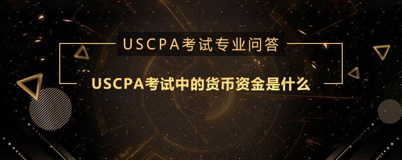 USCPA考试中的货币资金是什么