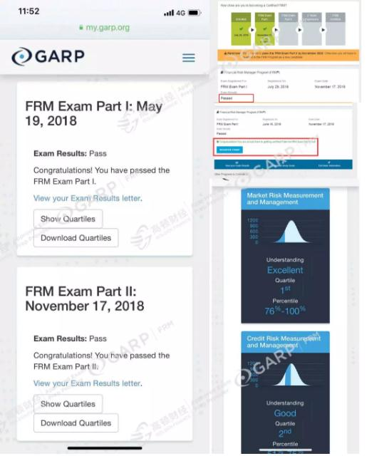 FRM考试成绩