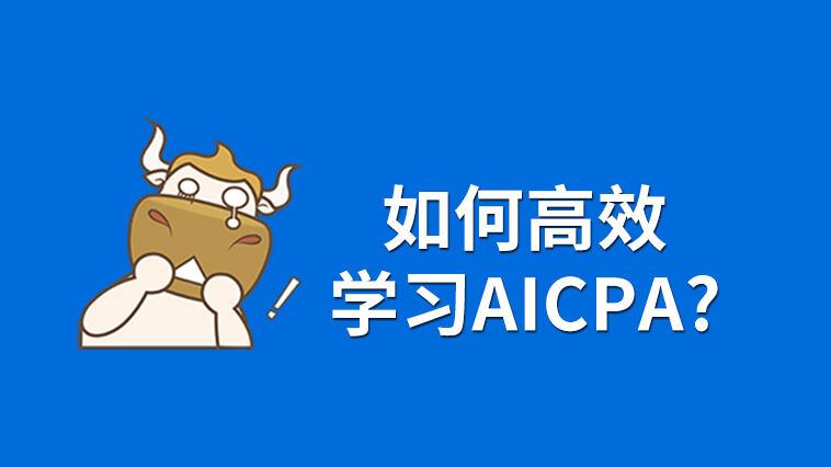 如何有效学习AICPA