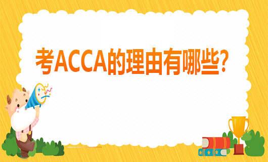 考ACCA的理由有哪些?