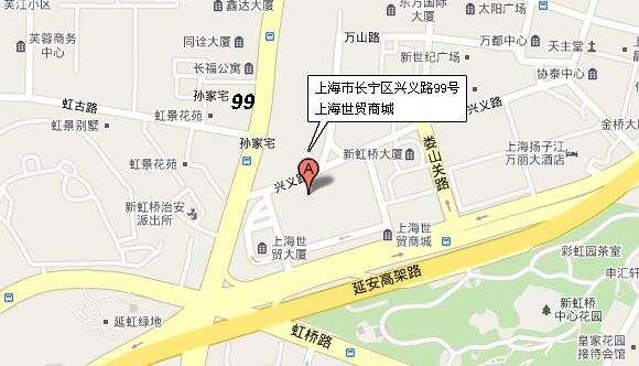 徐家汇手绘地图